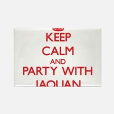 Keep Calm and Party with Jaquan Magnets