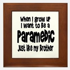 WIGU Paramedic Brother Framed Tile