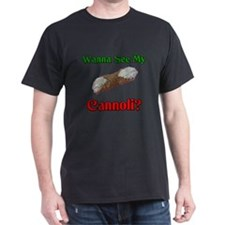 Wanna See My Cannoli T-Shirt