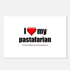 """""""Love My Pastafarian"""" Postcards (Package of 8)"""