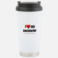 """Love My Pastafarian"" Travel Mug"