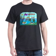 Relaxing On The River T-Shirt