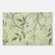 William Morris Jasmine Wallpaper Postcards (Packag