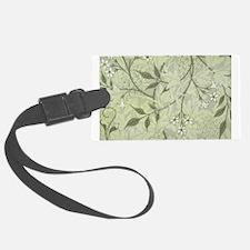 William Morris Jasmine Wallpaper Luggage Tag