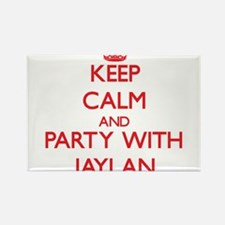 Keep Calm and Party with Jaylan Magnets