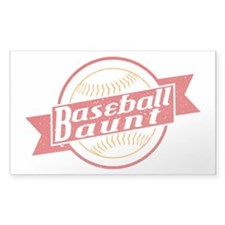 Baseball Aunt Decal