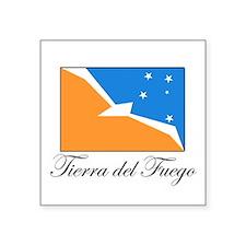 Tierra del Fuego - Flag Rectangle Sticker