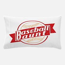 Baseball Aunt Pillow Case