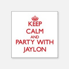 Keep Calm and Party with Jaylon Sticker