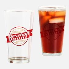 Baseball Aunt Drinking Glass
