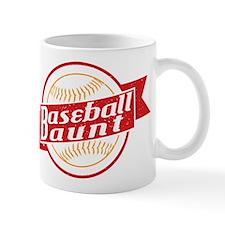 Baseball Aunt Mugs