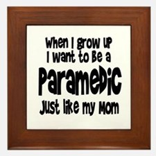 WIGU Paramedic Mom Framed Tile
