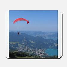 Paraglider in Austria Mousepad