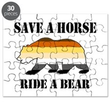 Gay Bear Save a Horse Ride a Bear Puzzle