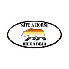 Gay Bear Save A Horse Ride A Bear Patches