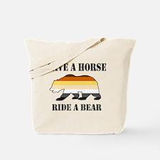 Gay Bear Save a Horse Ride a Bear Tote Bag