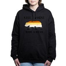 Gay Bear Save A Horse Ride A Bear Hooded Sweatshir