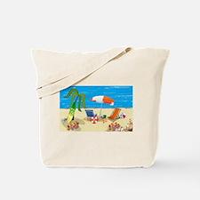 Summer Beach Fun Tote Bag