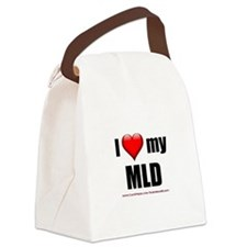 """Love My MLD"" Canvas Lunch Bag"