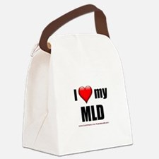 """""""Love My MLD"""" Canvas Lunch Bag"""