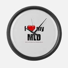 """""""Love My MLD"""" Large Wall Clock"""