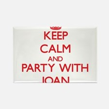 Keep Calm and Party with Joan Magnets