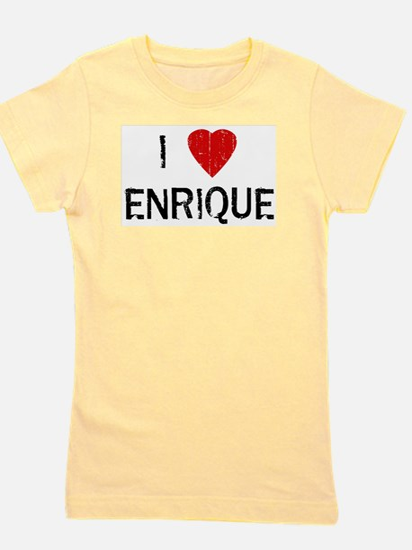 I Heart ENRIQUE (Vintage) Ash Grey T-Shirt