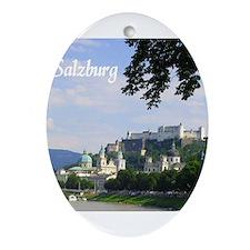 Salzburg souvenir Ornament (Oval)