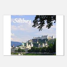 Salzburg souvenir Postcards (Package of 8)