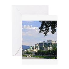 Salzburg souvenir Greeting Cards