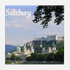 Salzburg souvenir Tile Coaster