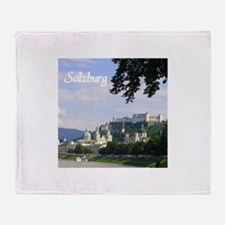 Salzburg souvenir Throw Blanket