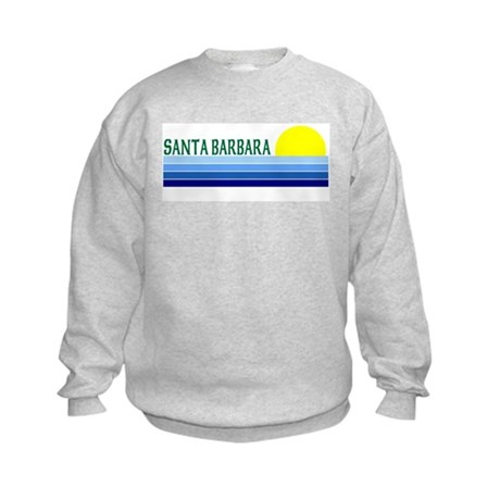Santa Barbara, California Kids Sweatshirt