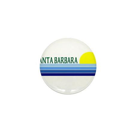 Santa Barbara, California Mini Button