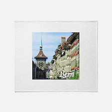 Bern Switzerland souvenir Throw Blanket