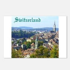 Switzerland Swiss souvenir Postcards (Package of 8