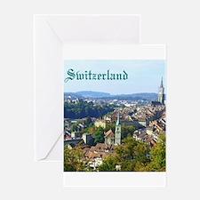 Switzerland Swiss souvenir Greeting Cards