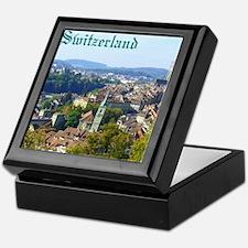 Switzerland Swiss souvenir Keepsake Box