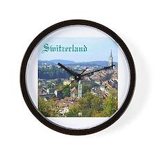 Switzerland Swiss souvenir Wall Clock