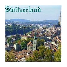 Switzerland Swiss souvenir Tile Coaster