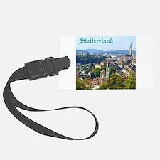 Switzerland Swiss souvenir Luggage Tag
