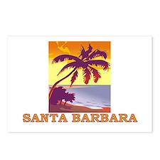 Santa Barbara, California Postcards (Package of 8)