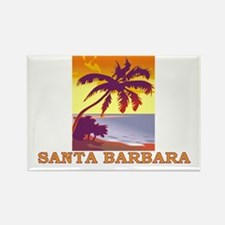 Santa Barbara, California Rectangle Magnet