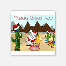 Christmas In The Desert Sticker