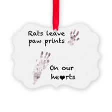 Paw Prints Ornament