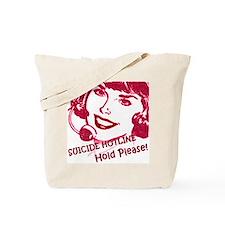Suicide Hotline Tote Bag