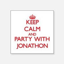 Keep Calm and Party with Jonathon Sticker