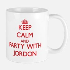 Keep Calm and Party with Jordon Mugs