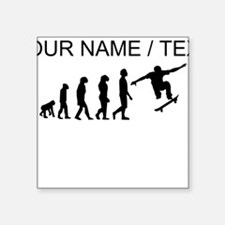 Custom Skateboard Evolution Sticker