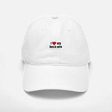 """Love My Dutch Wife"" Baseball Baseball Cap"